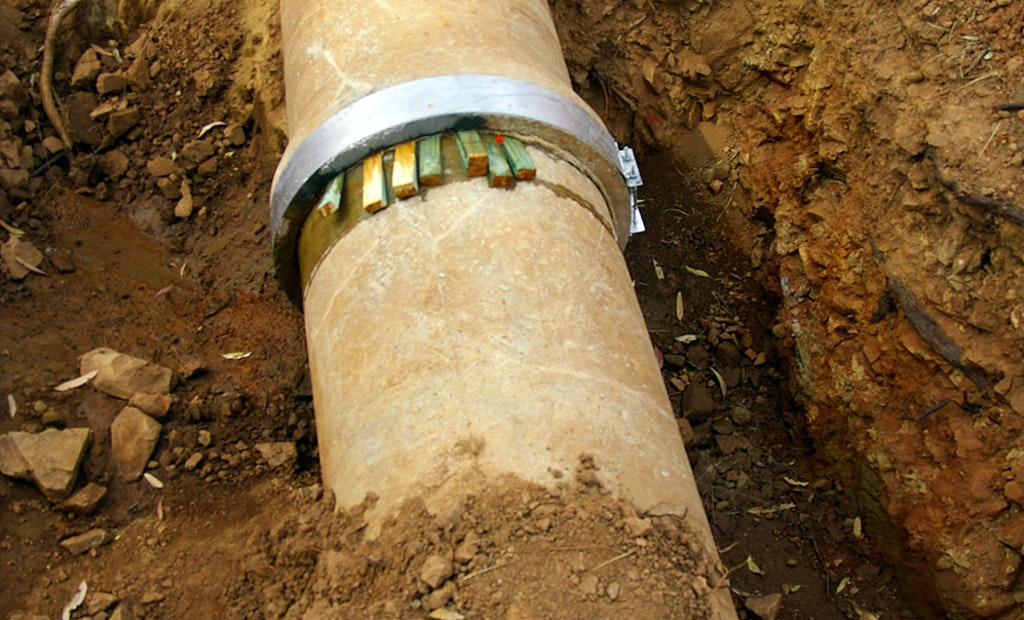 Study: Leaky Pipes Can Contaminate Drinking Water