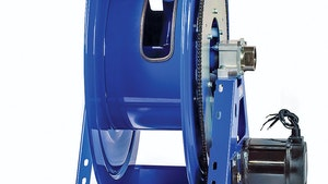 COXREELS 1195 Series motorized hose reels