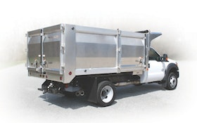 New Aluminum Landscape Dump Body is Lightweight, Versatile