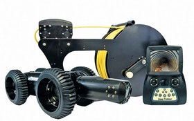 TV Inspection Cameras - Deep Trekker DT340 Pipe Crawler
