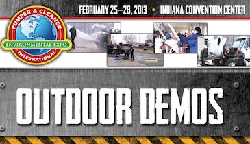 2013 Pumper & Cleaner Expo Sewer Cleaning Demo Videos
