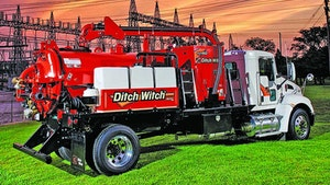 Jet/Vac Combination Trucks/Trailers - Ditch Witch FXT50