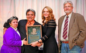 Almanza receives Ditch Witch Harold Chestnut Award
