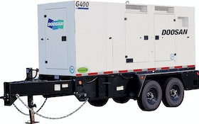 Doosan Portable Power mobile generator