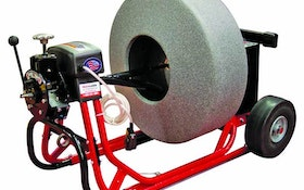 Cable Machines - Electric Eel Model 800 hydrostatic sewer cleaner