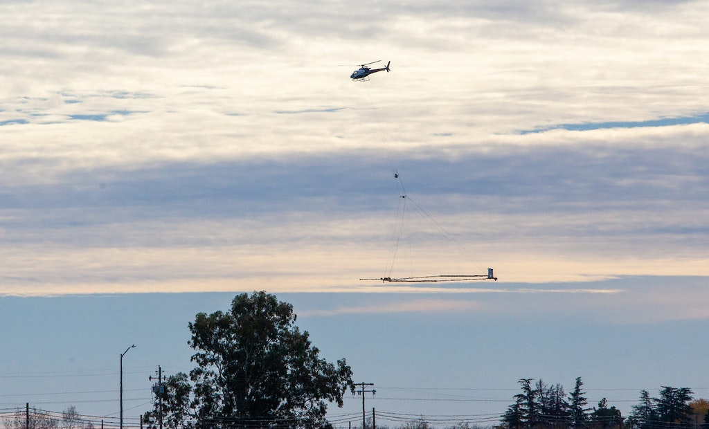 Innovative Airborne Technology to Map California's Groundwater Basins