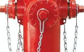 Hydrant - EJ WaterMaster 5CD350 fire hydrant