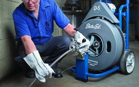 Electric Eel D-5 drain-cleaning machine