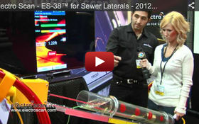 Electro Scan - ES-38™ for Sewer Laterals - 2012 Pumper & Cleaner Expo
