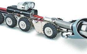Crawler Cameras - Lateral launch system