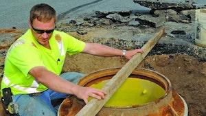 Eull's Mfg. manhole shield