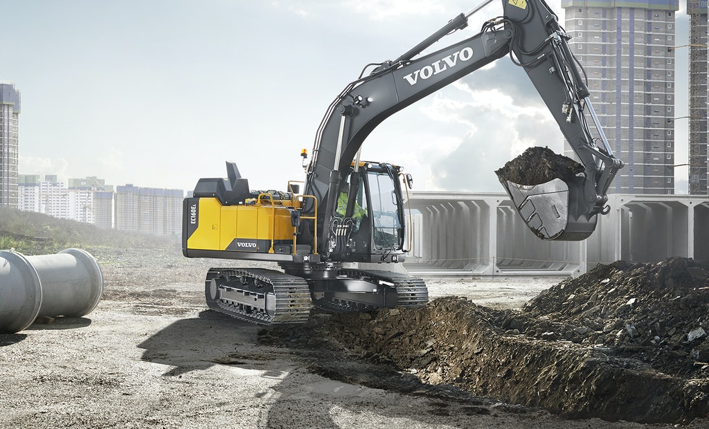 New Volvo Crawler Excavator Carries Several New Features