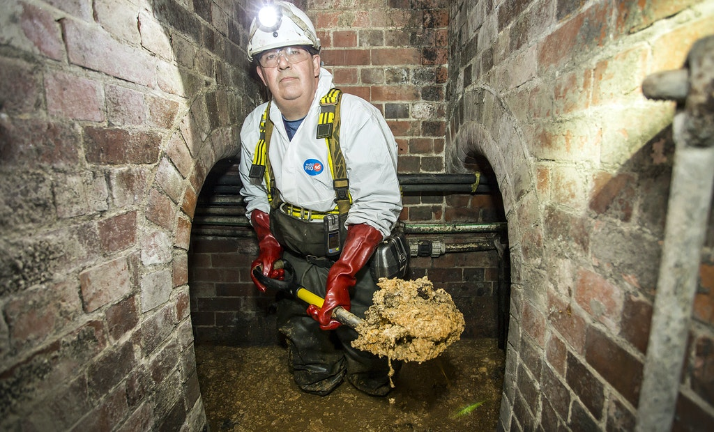 Restaurant Grease Found to be Major Cause of London Fatberg