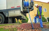 Utility Wipes Out Sanitary Overflows