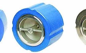 Flomatic silent wafer check valves