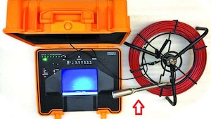 TV Inspection Cameras - Inspection system with lay-flat reel