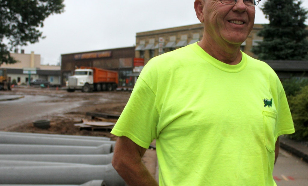 Project Engineer Finds Familiar Ground in Rhinelander Downtown Streetscape Project