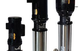 Vertical Booster Pumps Offer Superior Efficiency