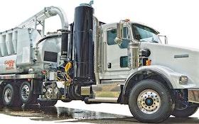Industrial Vacuum Trucks - GapVax HV55 HydroVax