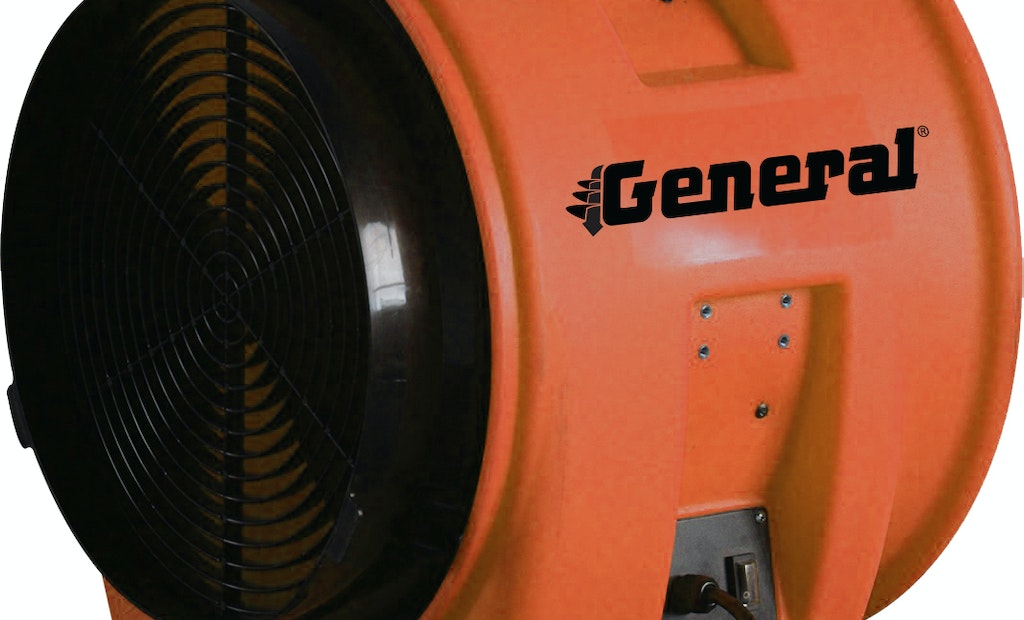 New Axial-Flow Confined-Space Ventilation Blower Released