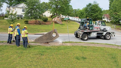 Stormwater System Under Construction