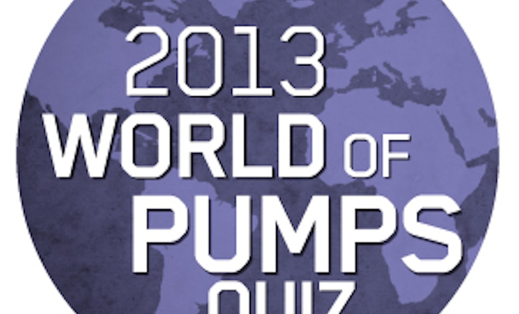 Engineers show skills on World of Pumps Quiz