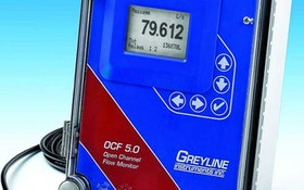 Flow Control/Monitoring Equipment - Greyline Instruments OCF 5.0