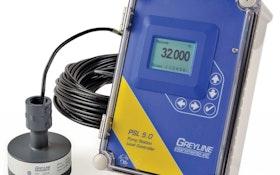 Control Panel - Greyline Instruments PSL 5.0 Hybrid Pump Station Level Controller