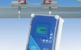 Greyline Instruments clamp-on ultrasonic flowmeter