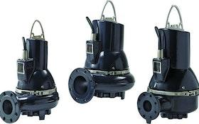 Grundfos submersible wastewater pumps