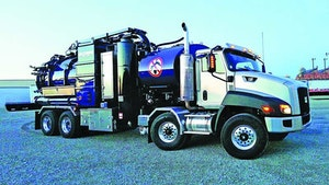 Guzzler vacuum loader chassis options