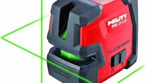 Laser Profiling Equipment - Hilti PM 2-LG