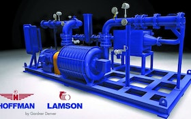 Hoffman & Lamson Centrifugal Blower System