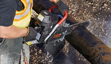 ICS Adds New Saw to its Utility Pipe Cutting Portfolio
