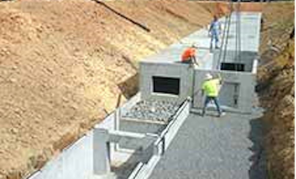 Oldcastle Stormwater Solutions Group Supplies Stormwater Detention System