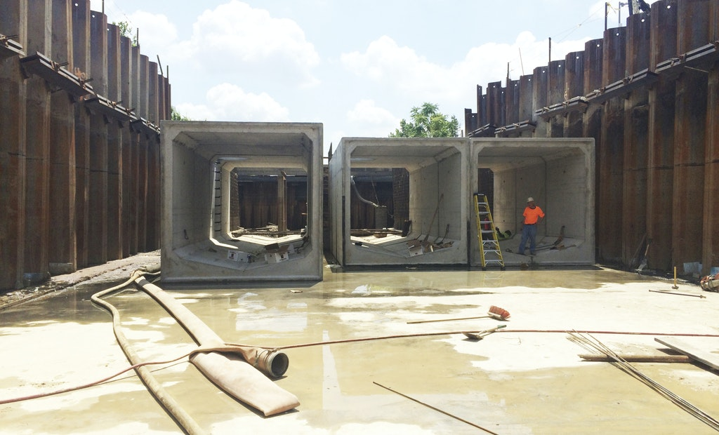 Philadelphia Tackles CSOs With Precast Concrete Box Culvert