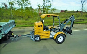 Excavation Equipment - Towable mini-excavator