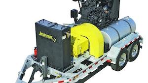 Waterblasting - Mobile waterblasting unit