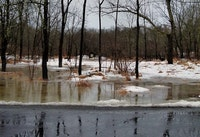 Historic Snowmelt Causes Flooding, Problems for Utilities