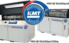 KMT Streamline 90,000 psi pumps