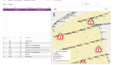Making Cross Bore Inspections Standardized, Accessible and Mappable