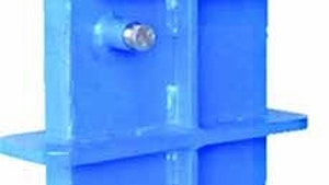 Valves - Lined Valve Company bonneted metal-seated knife gate valve