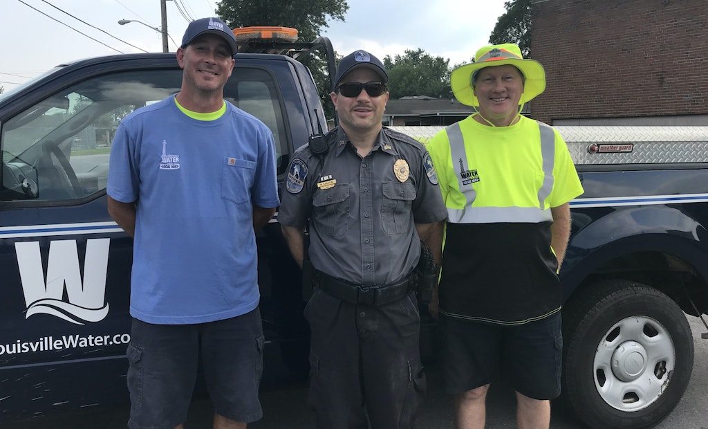 Routine Hydrant Repair Job Turns Into Kitten Rescue Mission