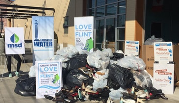 Louisville Water Foundation Makes $31,000 Donation to Flint