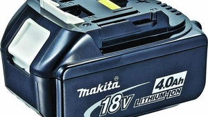 Makita 18V lithium-ion battery