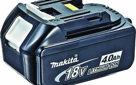 Makita 18V lithium-ion battery
