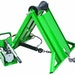 McElroy hydraulically adjustable pipe stand