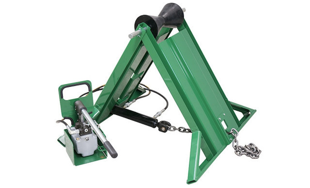 McElroy Announces New Hydraulically Adjustable Pipe Stand