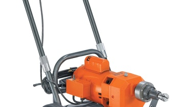 Walk-Behind Sectional Drain Cleaner Packs a Punch