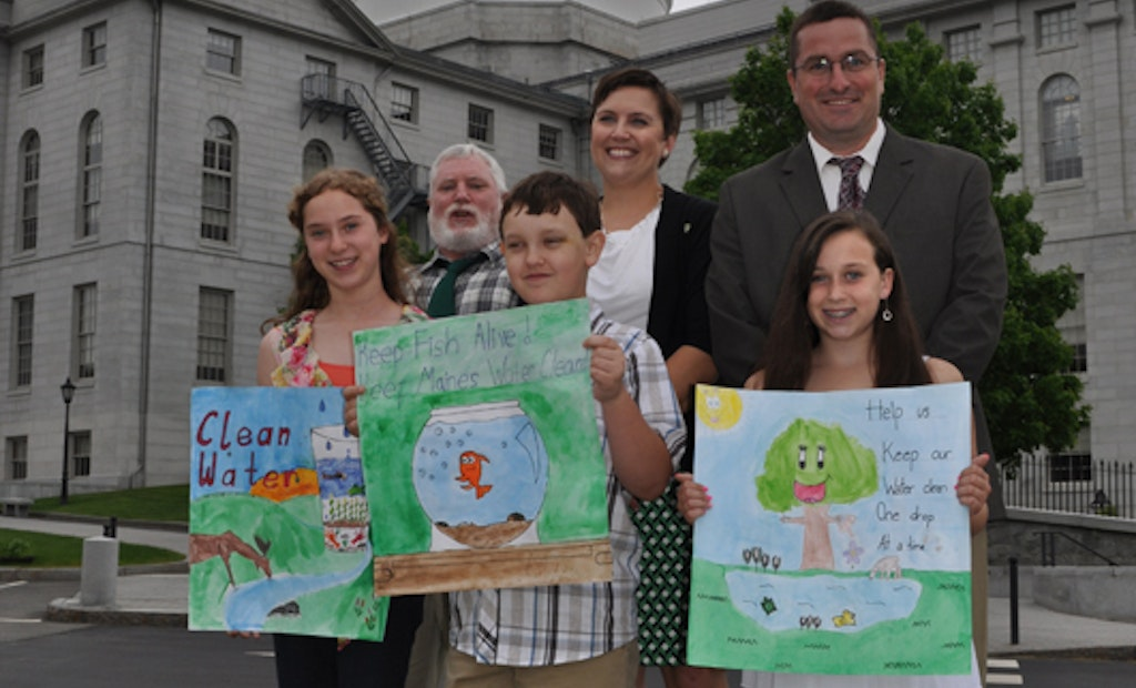 Maine Wastewater Association Awards Students for Poster Contest